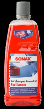 SONAX CarShampoo Red Summer 1000ml