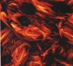 Water transfer printing starter kit Flames Ghost Red included 2x1 metre Foil