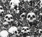SCULL ROSES  SL052AP (special width)